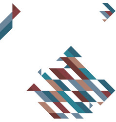 Abstract geometric shapes polygon background vector