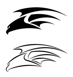 Hawk set vector