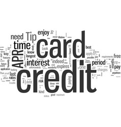 How to have a trouble free life with a apr credit vector