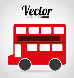 london bus vector image