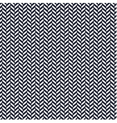 monochrome herringbone decorative pattern vector image