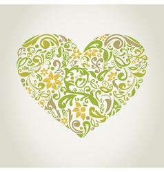 Plant heart2 vector image