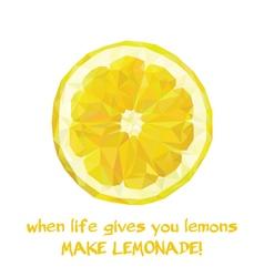 Slice of Lemon vector