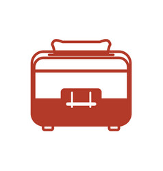 toaster household appliances vector image