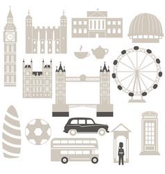london architecture london architecture vector image