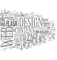 add creativity in your website text word cloud vector image