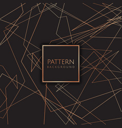 Art deco style pattern background vector