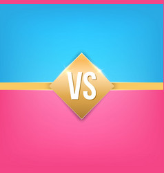 creative of versus background vector image