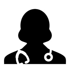 Doctor Physician Nurse Medical Healthcare Icon vector image vector image