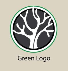 Green logo vector