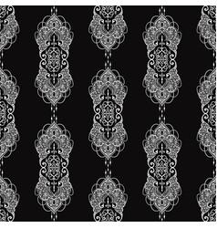 Lace elegant vintage pattern vector