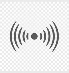radio wireless icon symbol and sign vector image