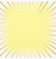 cartoon bang 8 vector image vector image