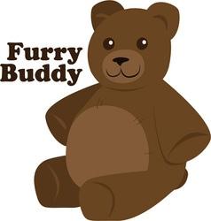 Furry buddy vector