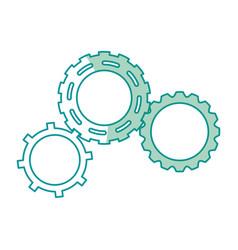 Gears engineering mechanical wheel cogs vector