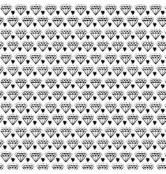 Diamond draw background design vector image