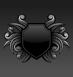 gothic emblem vector image vector image
