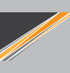 abstract yellow gray line overlap design modern vector image