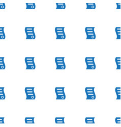 Bill house sell icon pattern seamless white vector