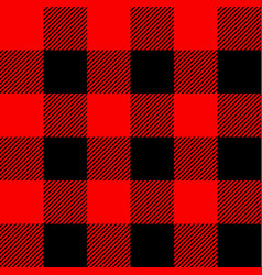 classic tartan and buffalo check plaid seamless vector image