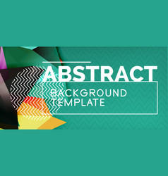 color geometric abstract background minimal vector image