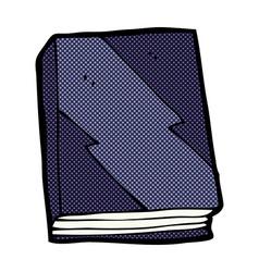 comic cartoon book vector image