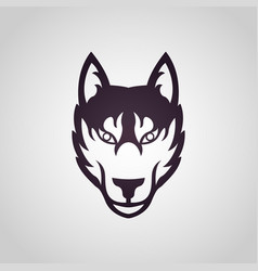 fox logo icon vector image