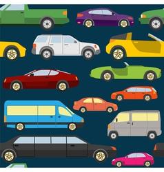 Passenger car background seamless vector image