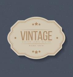 vintage labels and frame design elements for vector image