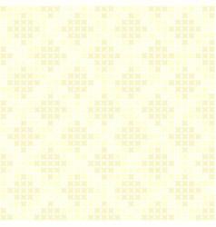yellow abstract diamond pattern seamless vector image