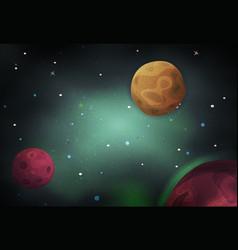 scifi space background for ui game vector image vector image