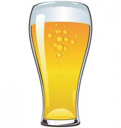 beer cartoon vector image vector image
