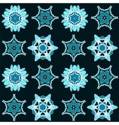 Geometric background seamless pattern vector image