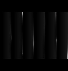 abstract gradient black tech design pattern vector image