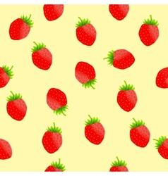 Fresh Strawberry background vector image