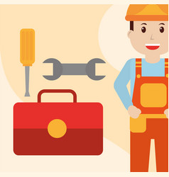 people workers profession vector image
