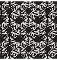 Seamless Black and White Optical Art ZigZag vector image