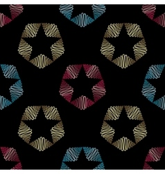Abstract hand drawn pattern seamless vector