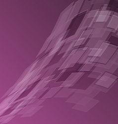 Abstract purple background with geometric vector
