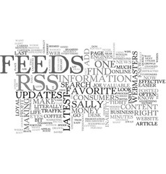 Add new content to your website with rss feeds vector
