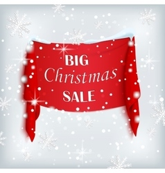 Big Christmas sale poster vector