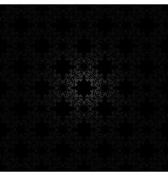 Black seamless pattern vector