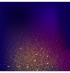 Gold glitter and bright sand colored background vector