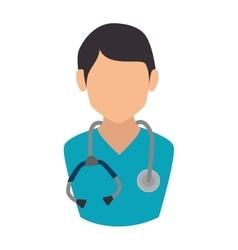 man medic doctor vector image