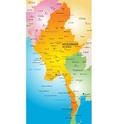 Myanmar vector