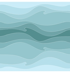 Pattern of the waves vector