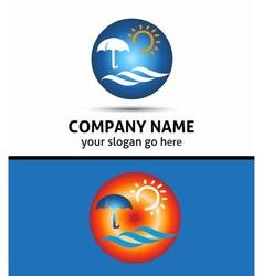 Tourism Travel abstract logo design templat vector