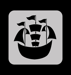 maritime icon vector image