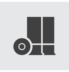 Game console icon vector image