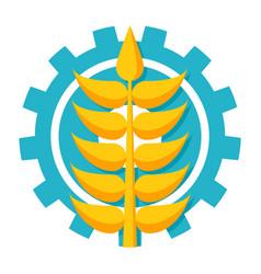 Agronomy icon vector